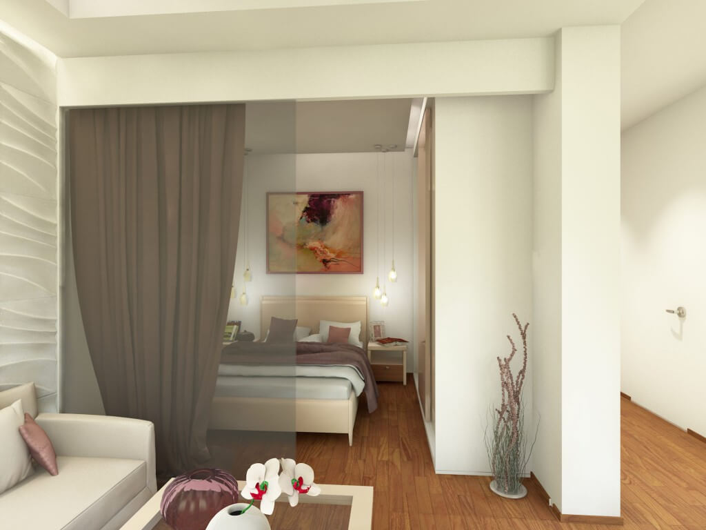 Дизайн спальни. Проект Марии Белько