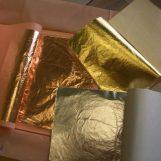 Поталь Золото  16*16см (500л)